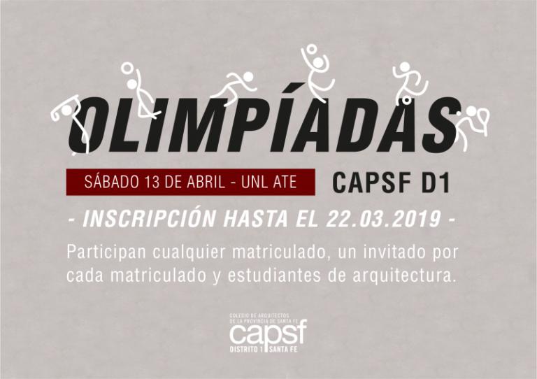 Olimpíadas CAPSF 2019