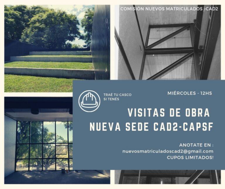 Visita de obra de la Nueva Sede del Colegio de Arquitectos de Rosario