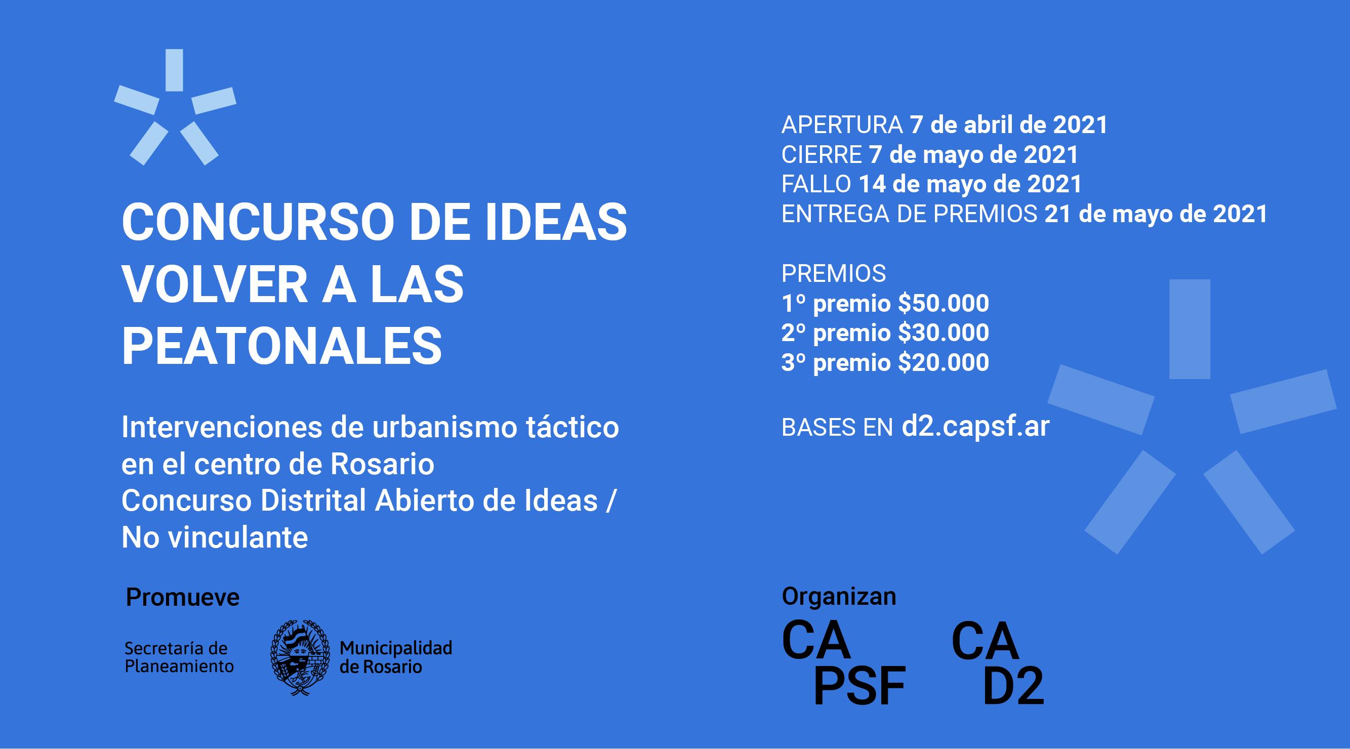 """""""VOLVER A LAS PEATONALES – Intervenciones de urbanismo táctico en el centro de Rosario"""""""