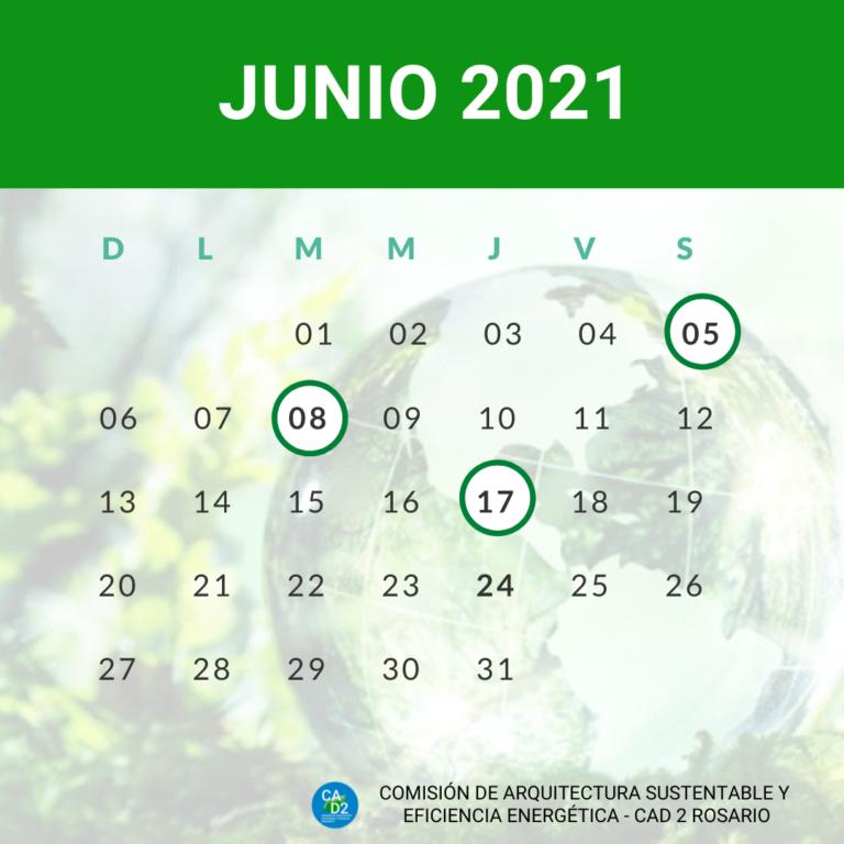 CALENDARIO AMBIENTAL JUNIO 2021