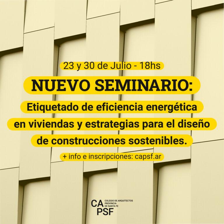 Seminario sobre etiquetado de eficiencia energética.